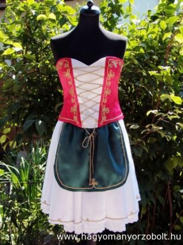 Magyar ruha - csárdás ruha (4 részes) 67f0a0fbd5