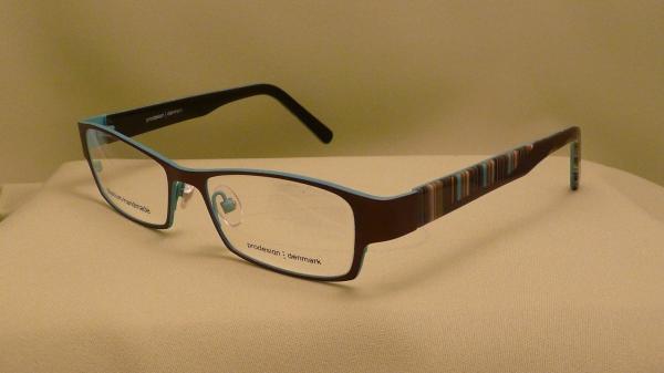 Prodesign szemüvegkeret női barna zöld 719a4e9370