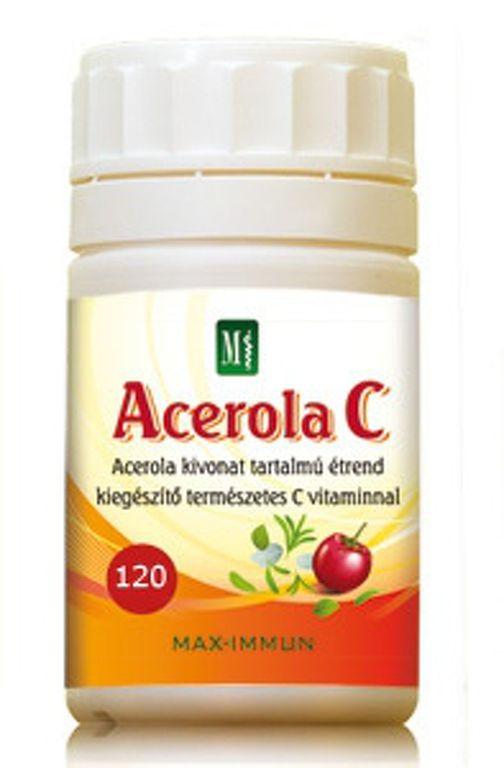 Gyümölcspor kivonat természetes C vitaminnal - Acerola C por 6201d59950