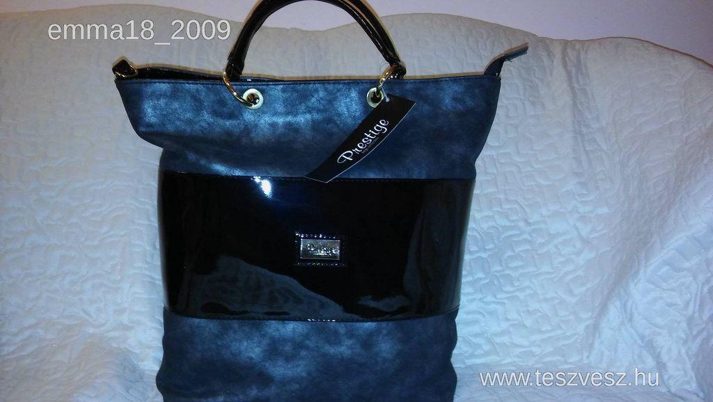 Prestige táska ezüst-fekete 8ee18579f4