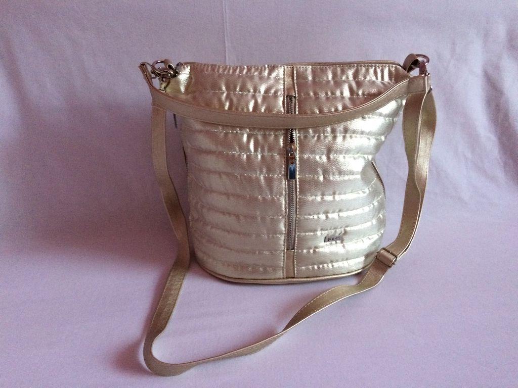 Via55 arany rostbőr női táska e720094248