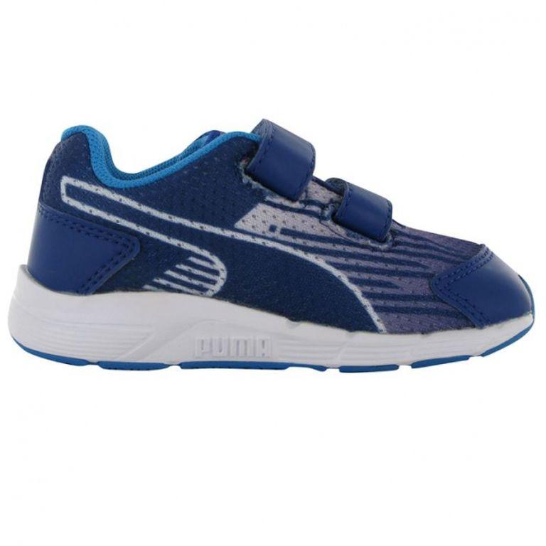 22-es fiú puma cipő Sequence inf 54 kék gyerek sportcipő abc70d150a
