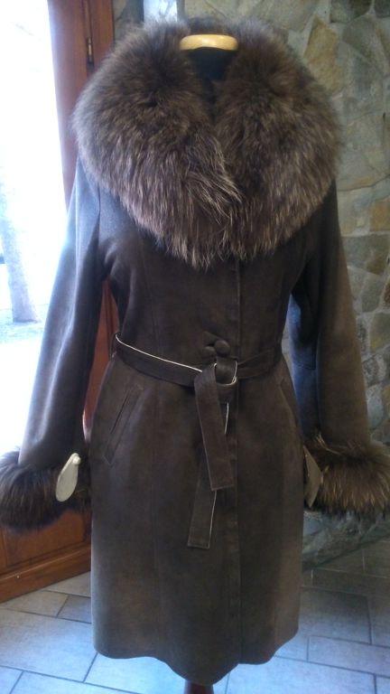 Női irha kabát. Akció! 882a1182b1