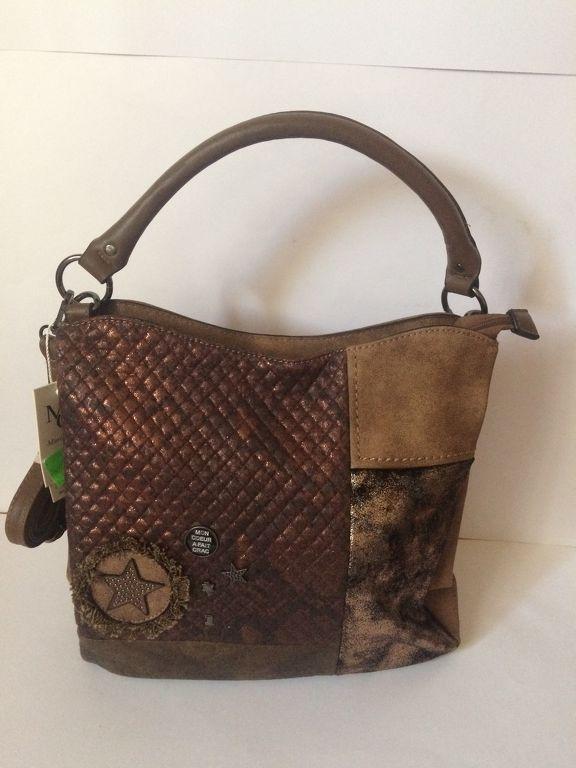 d156df530f5b Olasz női táska desigual stílus barna
